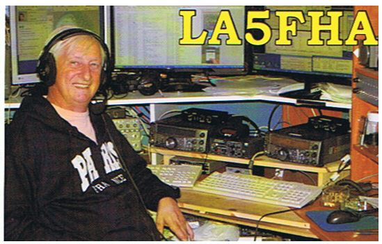 QSL image for LA5FHA