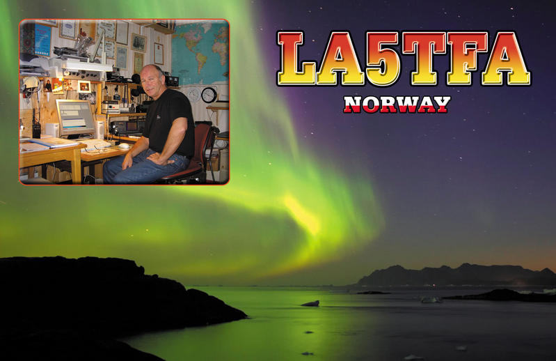 QSL image for LA5TFA