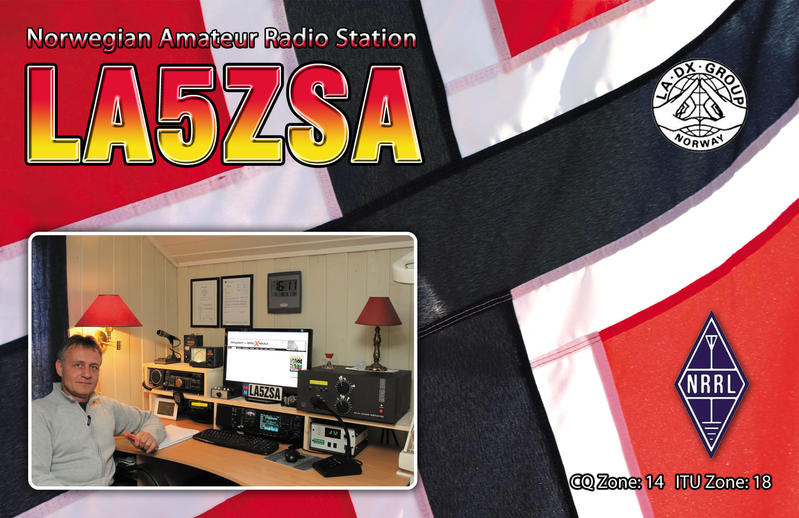 QSL image for LA5ZSA