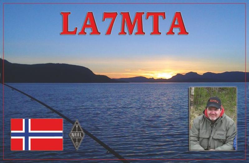 QSL image for LA7MTA