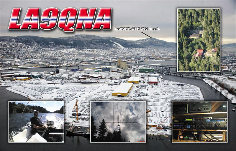 QSL image for LA9QNA