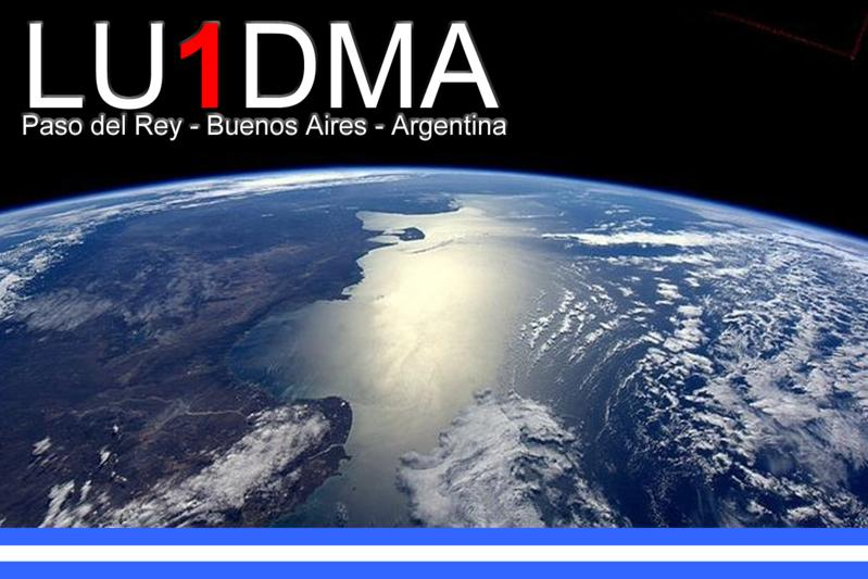 QSL image for LU1DMA