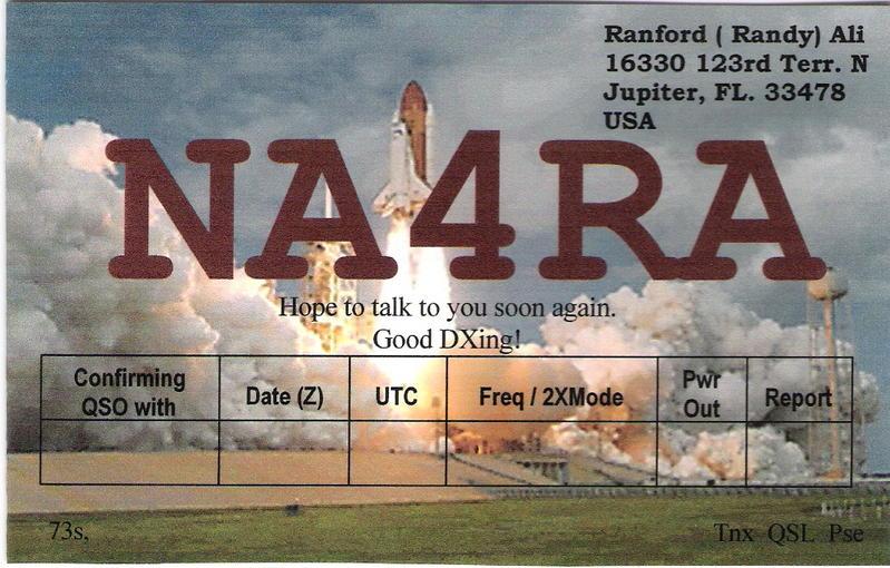 QSL image for NA4RA