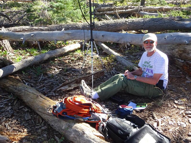 SOTA summit in Bryce Canyon, 9115 Feet