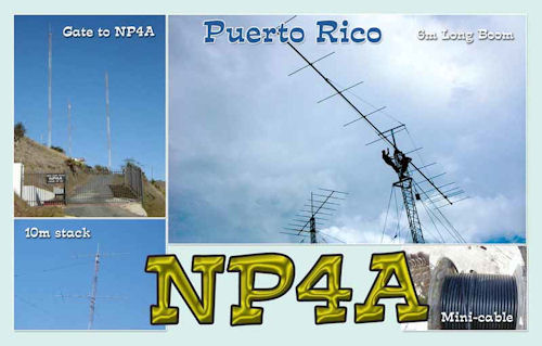 QSL image for NP4A