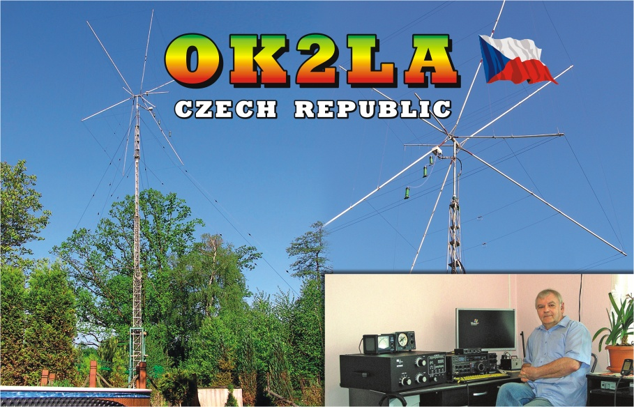 QSL image for OK2LA