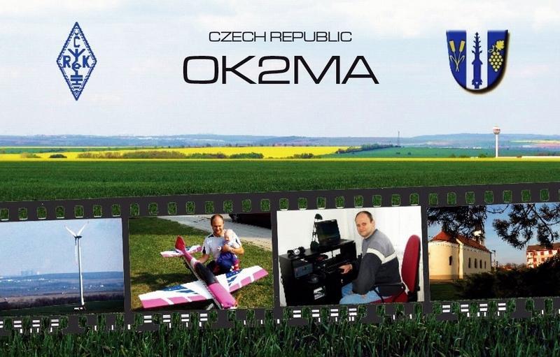 QSL image for OK2MA