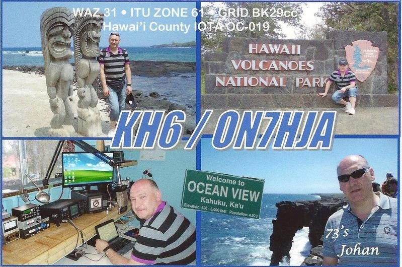 QSL image for ON7HJA