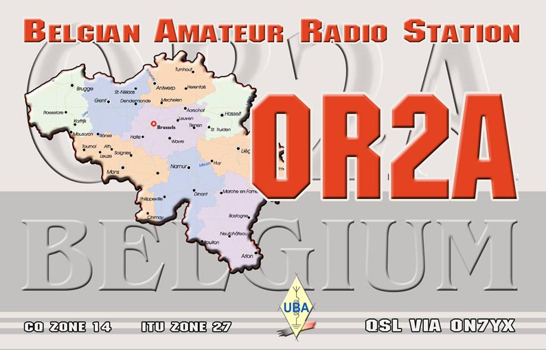 QSL image for OR2A