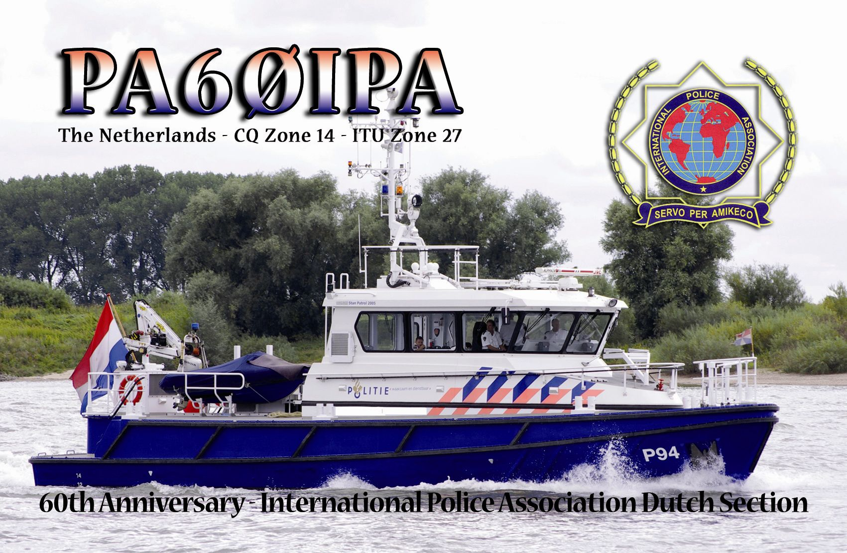 QSL image for PA60IPA