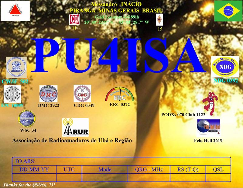 QSL image for PU4ISA