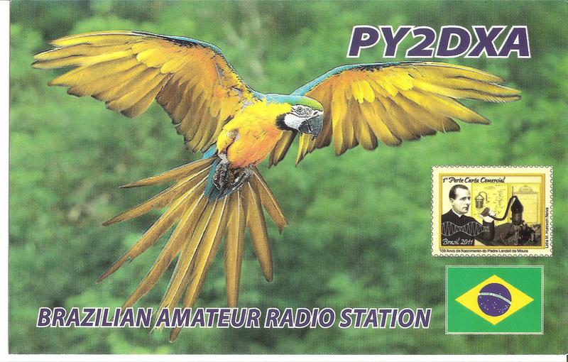 QSL image for PY2DXA