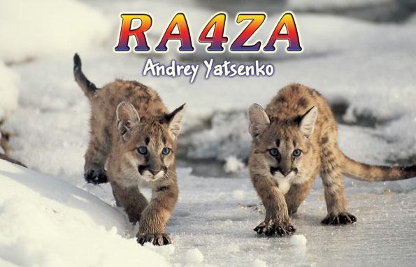 QSL image for RA4ZA