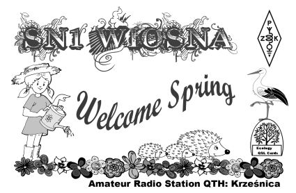 QSL image for SN1WIOSNA