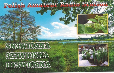 QSL image for SN3WIOSNA