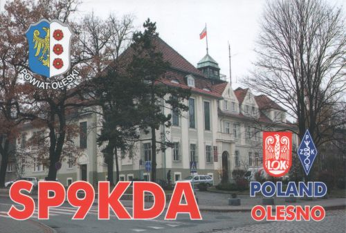 QSL image for SP9KDA