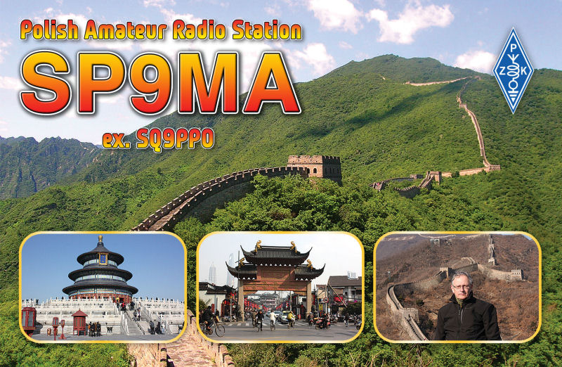QSL image for SP9MA