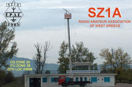 QSL image for SZ1A