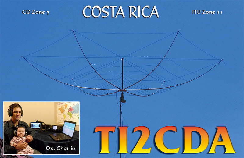 QSL image for TI2CDA