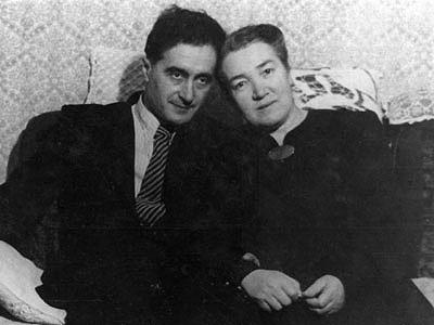 Семён Евгеньевич Лаповок и Любовь Яковлевна Лаповок