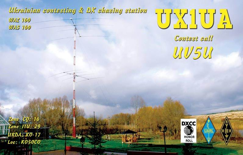 QSL image for UX1UA