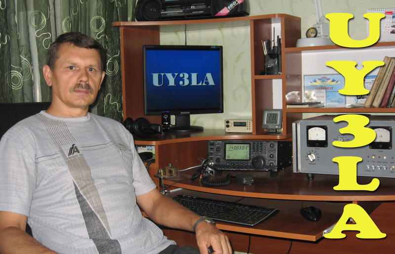 QSL image for UY3LA