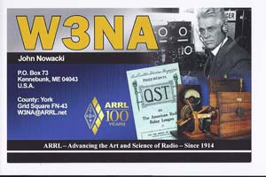 QSL image for W3NA