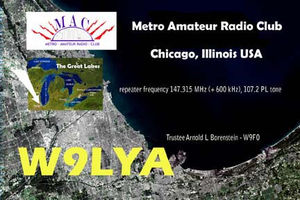 QSL image for W9LYA