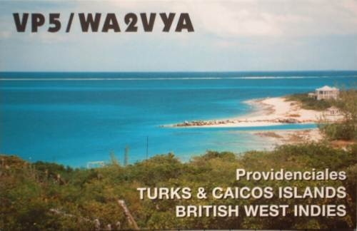 QSL image for WA2VYA