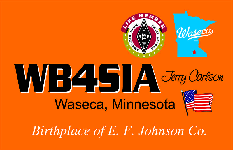 QSL image for WB4SIA
