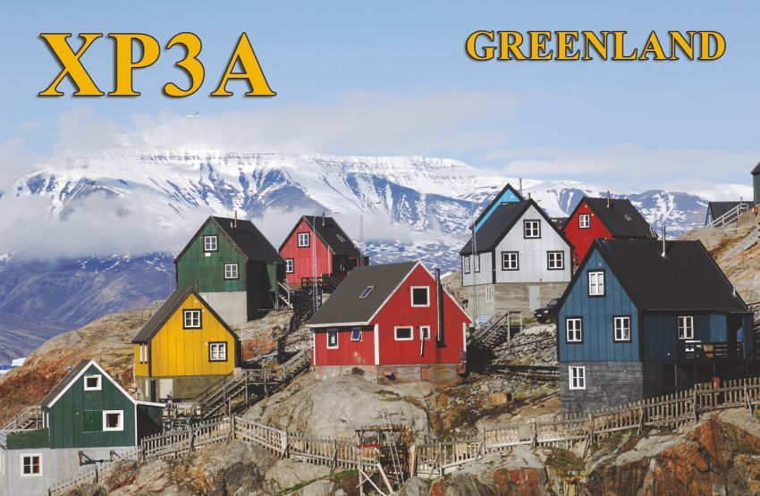 QSL image for XP3A
