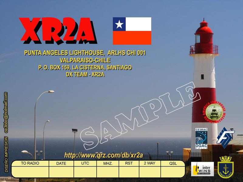 QSL image for XR2A