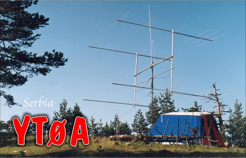 QSL image for YT0A