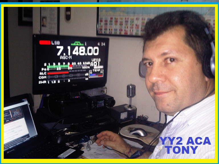 QSL image for YY2ACA