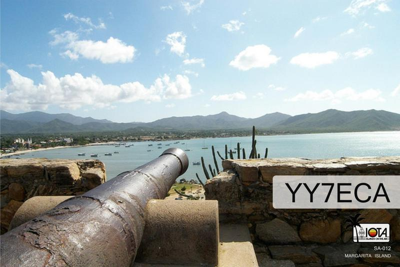 QSL image for YY7ECA