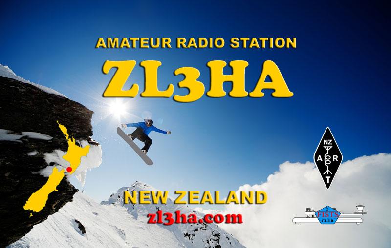 QSL image for ZL3HA