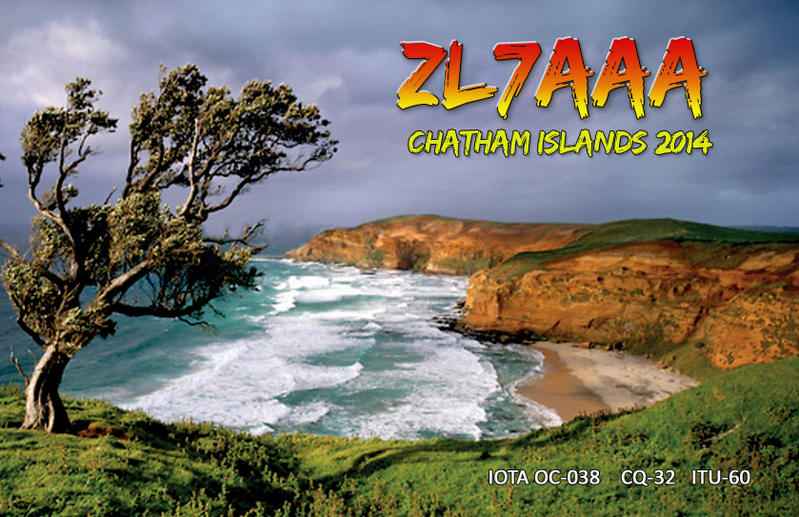 QSL image for ZL7AAA