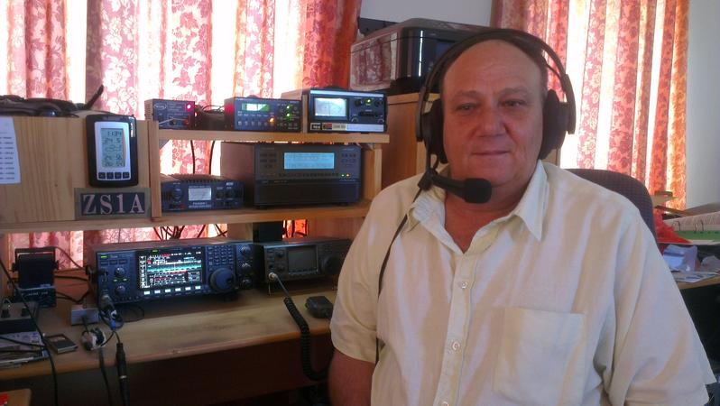 ZS1A in his shack