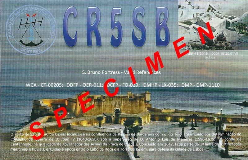 QSL image for CR5SB