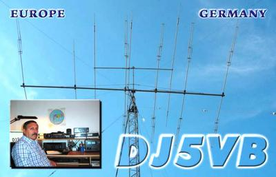 QSL image for DJ5VB