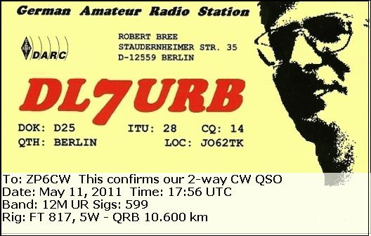 QSL image for DL7URB