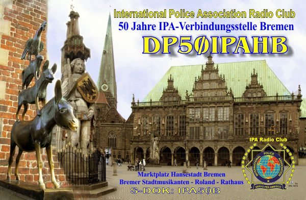 QSL image for DP50IPAHB