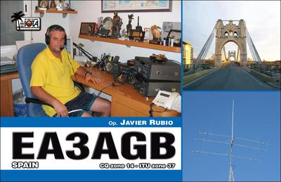 QSL image for EA3AGB