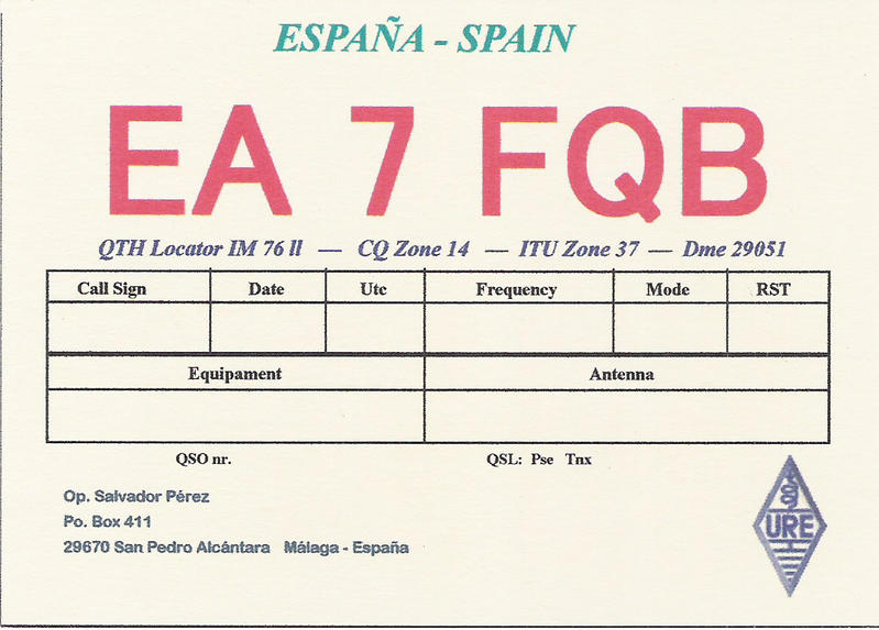 QSL image for EA7FQB