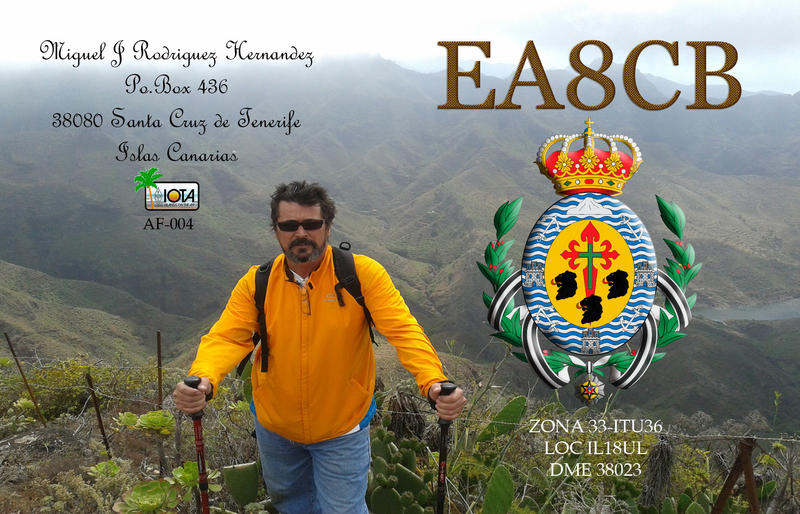 QSL image for EA8CB