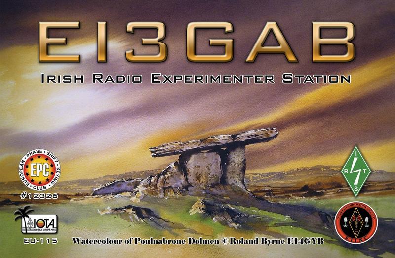 QSL image for EI3GAB