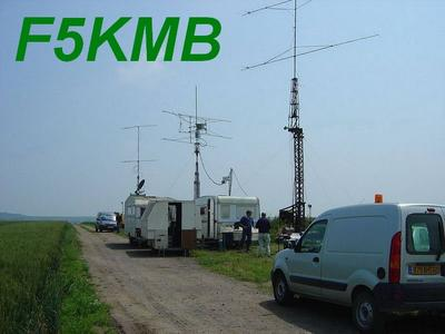 QSL image for F5KMB