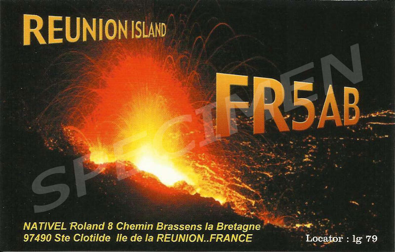 QSL image for FR5AB
