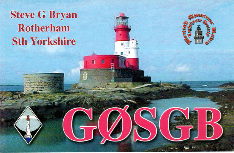 QSL image for G0SGB