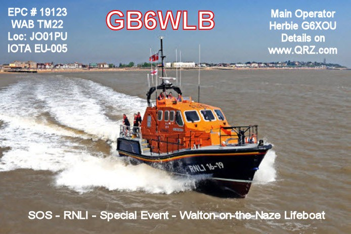 QSL image for GB6WLB
